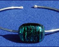 Green Stripe Bracelet