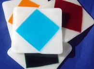 Diamond Coasters set