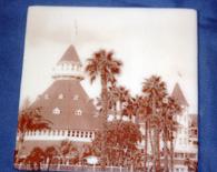 Hotel Del Coaster #1 – white