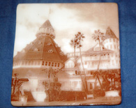 Hotel Del Coaster #2 – ivory