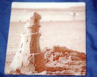 Sand Castle Coaster – ivory